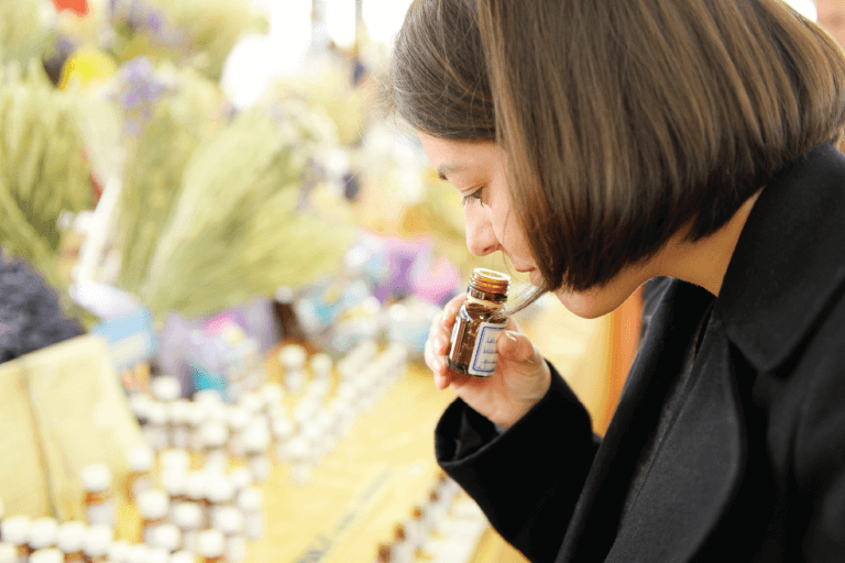 Talking scents article