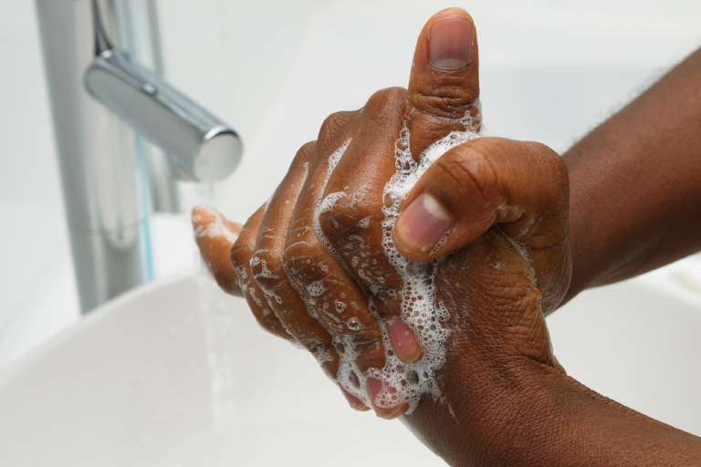 Say no to germs article