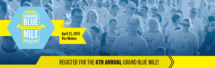 Register today for the 2015 Grand Blue Mile